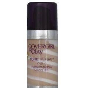 CoverGirl and OLAY Tone Rehab Foundation, Creamy B